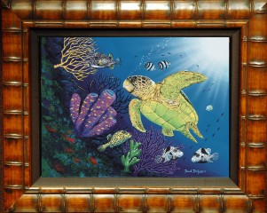 Boxfish Reef Limited Edition Giclee