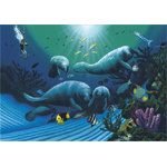 Diving with Art McKee Limited Edition Giclee