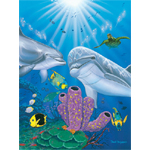 Dolphin Reef Limited Edition Giclee