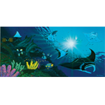 Manta Rays Limited Edition Giclee