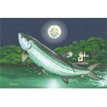 Silver Moon Limited Edition Giclee