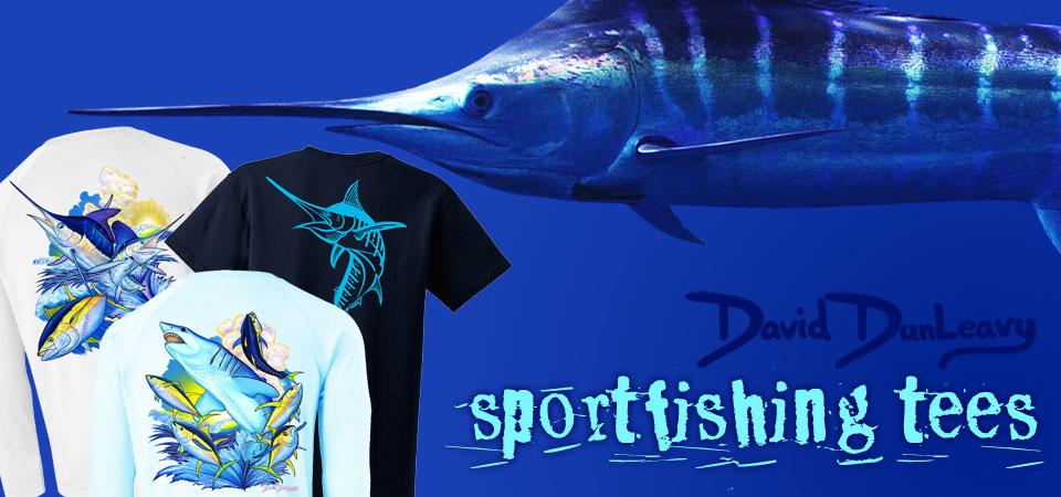 David Dunleavy - Sea Life Apparel - Dive Tees - Fishing Tees